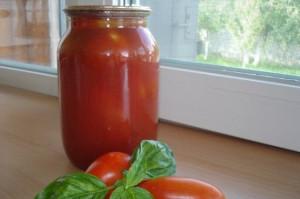 Заготовки на зиму - сок из томатов