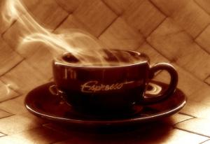 Бодрящий кофе эспрессо