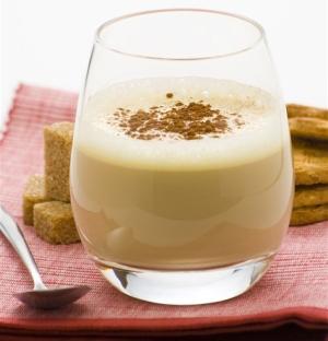 с кофе и молоком