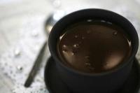 чашечка горячего шоколада