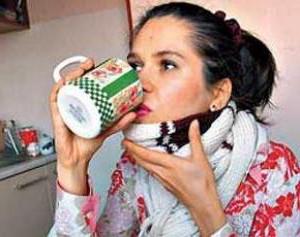 Имбирный чай спасет от недугов