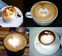 замечательный кофе латте