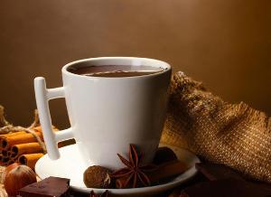 Густой горячий шоколад с крахмалом