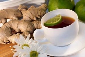 эффективное снижение веса с имбирным чаем