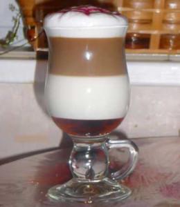 Потрясающе вкусный кофе латте